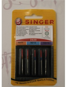 Singer Universal assorted Needles for Sewing Machines