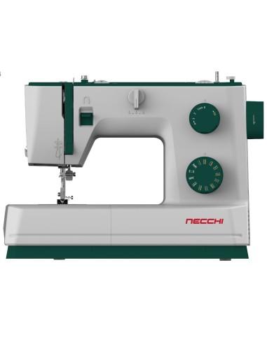 La macchina da cucire Necchi Q421A ha crochet rotativo, punti elastici e qualità per un cucito professionale