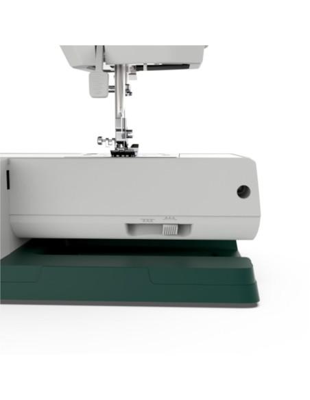 Braccio libero e leva esclusione trasporto della macchina per cucire Necchi Q421A