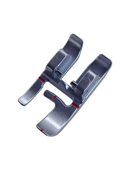 El pie especial para máquina de coser Pfaff  dos niveles facilita el cosido en los bordes
