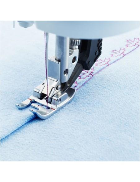 Il piedino compensatore per macchina da cucire Pfaff è ideale per impunture di precisione