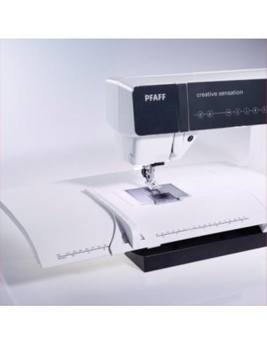 Tavolo prolunga con guida regolabile per macchina da cucire Pfaff  Creative, Expression, Performance