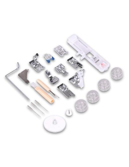 Gli accessori in dotazione con la Necchi NC-102D