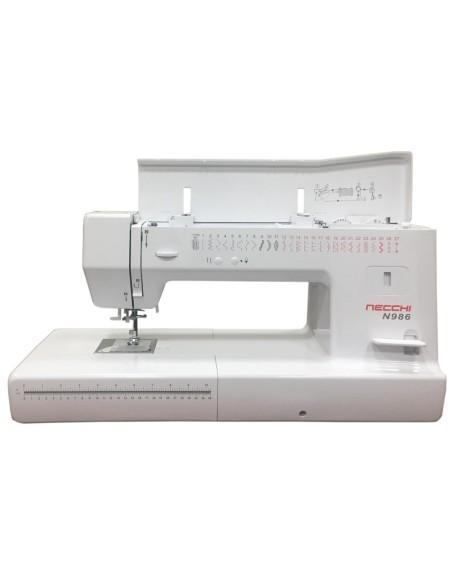 Necchi N986 macchina da cucire meccanica con 31 cm di spazio a destra dell'ago