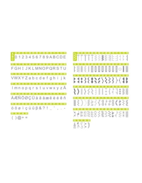 Necchi NC102D avec 200 programmes dont 8 boutonnières et 1 police alphanumérique
