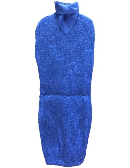 Telo ricambio per manichino sartoriale regolabile blu