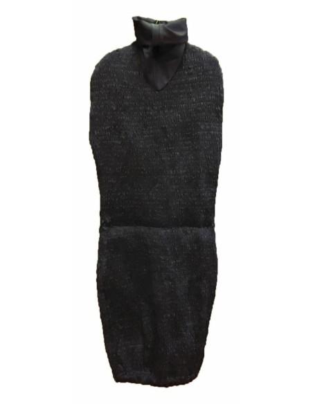 Telo colore nero di ricambio per busto da sarta regolabile