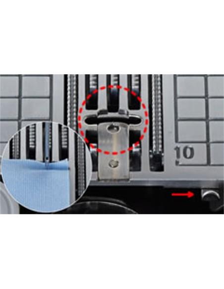Macchina per Cucire Juki HZL-DX3 | Griffa trasporto tessuto a 7 ranghi
