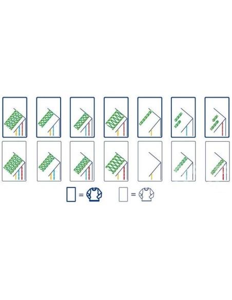 Punto Copertura Necchi C4 | Tabella dei punti realizzabili