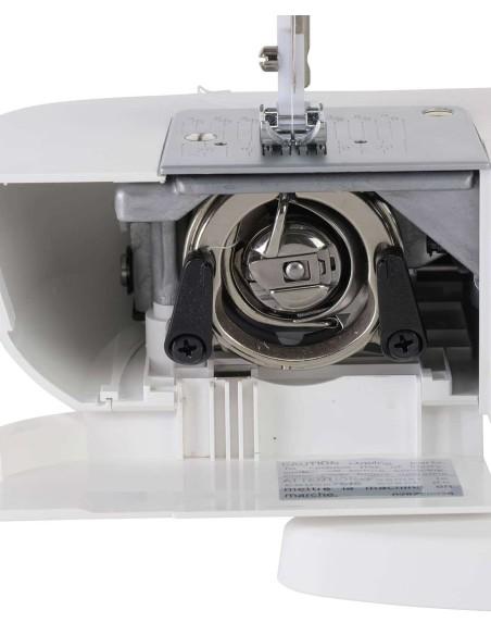 La macchina per cucire Singer M1605 monta crochet e portaspola in acciaio
