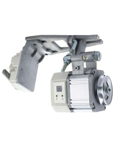 Motore per macchine da cucire professionali, senza frizione silenzioso e basso consumo.