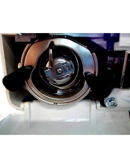 Macchina da Cucire Necchi K132 meccanica con crochet e porta-spola in acciaio