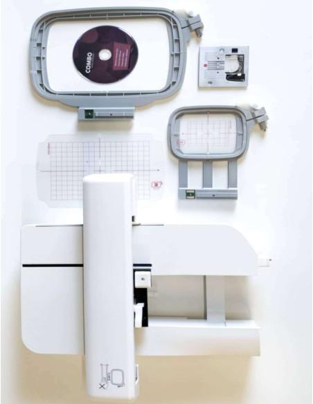 Il kit ricamo della Logica NCH01AX include 1 telaio 180x120 e 1 70 x50 mm