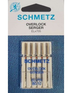 Schmetz Needles ELx705 for Overlockers