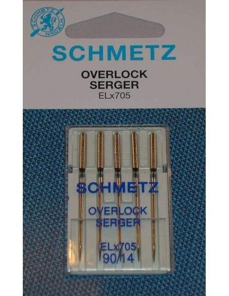 Aghi per macchine tagliacuci Schmetz ELx705
