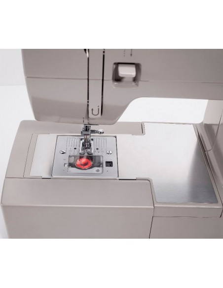 Singer HD 6635 Sewing Machine | Stainless Steel Bed Plate and Top Drop-In Bobbin