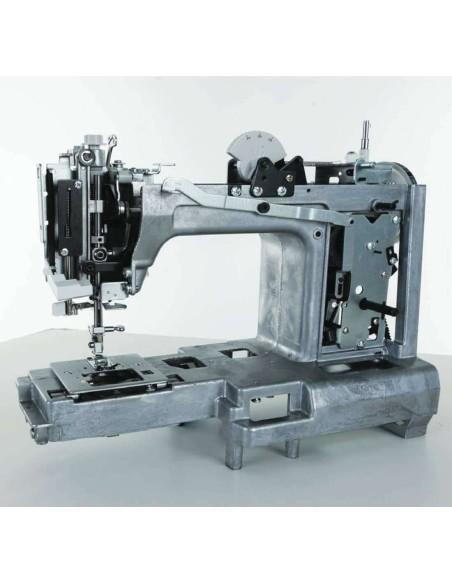Il telaio in lega metallica da alla Singer HD 6635 la giusta rigidità per sopportare ore di cucito