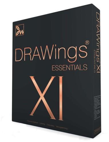 Drawings Essentials XI per Macchine da Ricamo importa file vettoriali e trasformali in ricamo