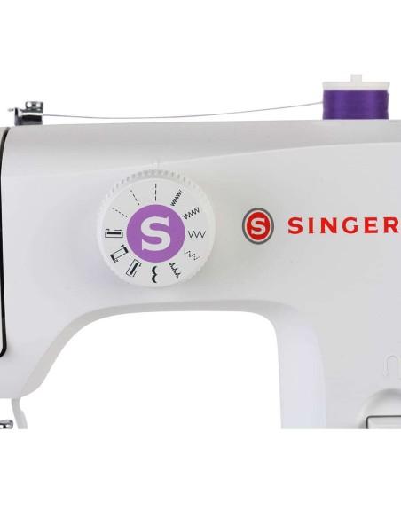 Il selettore punti della macchina per cucire Singer M1605 semplice e immediato