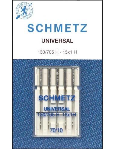 Agujas Schmetz Universal 130/705 para Máquinas de Coser