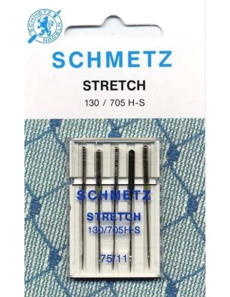 Aghi Schmetz per Macchine da Cucire per tessuti Stretch