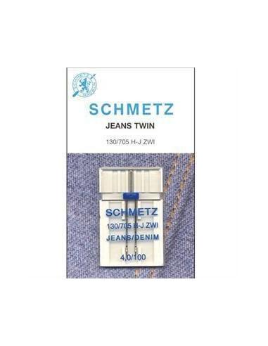 Ago Gemello Jeans Schmetz per Macchine da Cucire