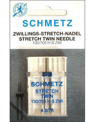 Schmetz Sewing Machines Stretch Twin Needle
