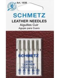 Aghi Schmetz Pelle per Macchine da Cucire