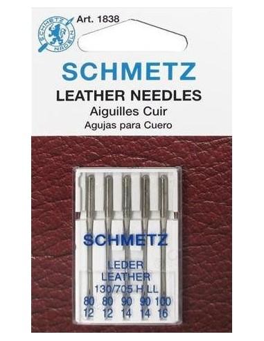 Agujas Schmetz para Cuero para Máquinas de Coser