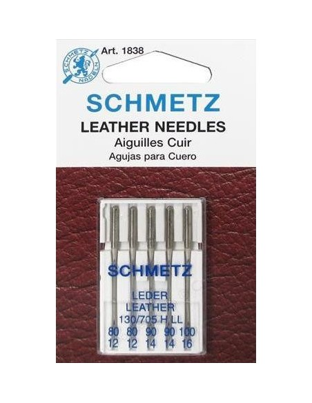 Schmetz Leather Sewing Machines Needles