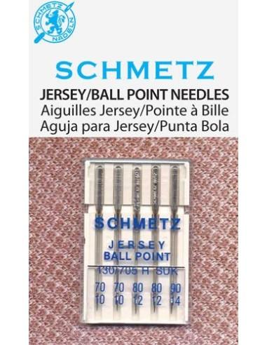 Agujas Schmetz Jersey para Máquinas de Coser
