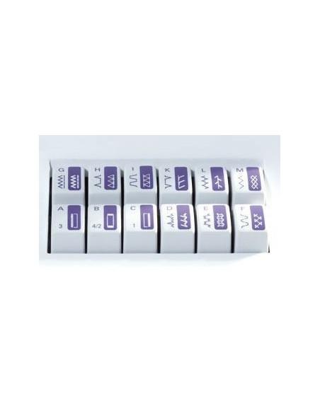 Macchina per Cucire Pfaff Select 3.2 | La tastiera per selezionare il punto è di facile utilizzo