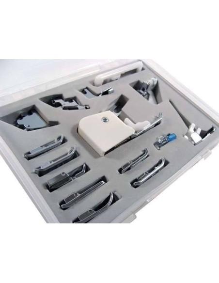 Kit 15 Pie Prensatelas Universal para Máquinas de Coser