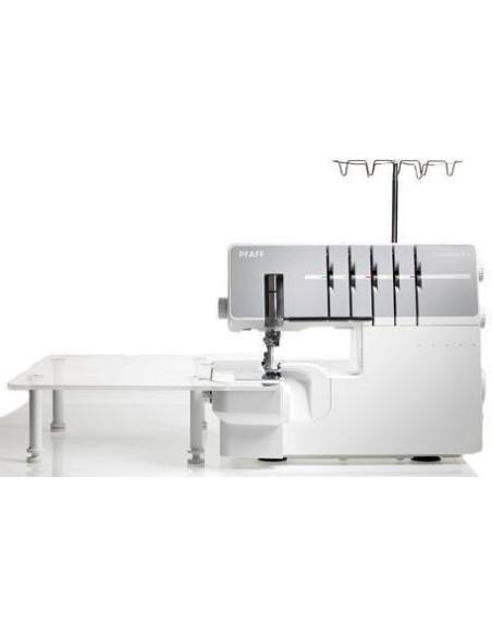 Tagliacuci Pfaff Coverlock 3.0 con Piano di Lavoro Extra Grande in Plexiglass
