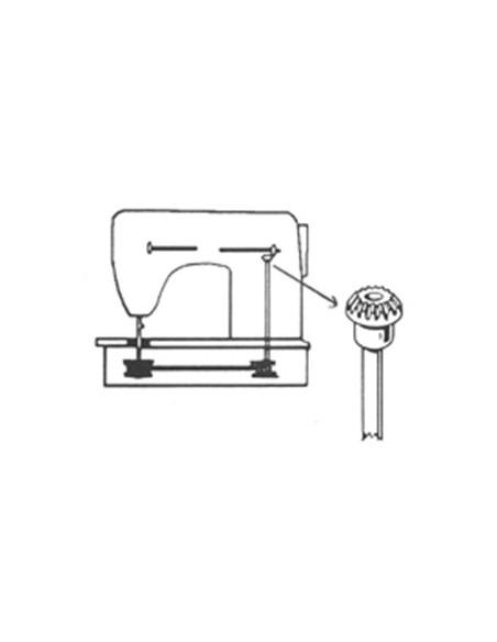 Engranaje de eje vertical para Máquinas de Coser Singer