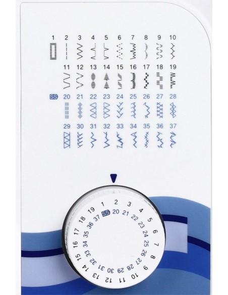 Macchina da Cucire Brother XQ3700 | 37 programmi di cucito tra cui scegliere