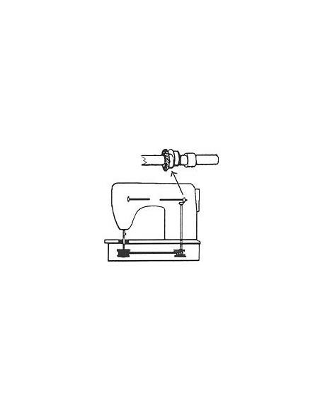 Posizione dell'Ingranaggio albero orizzontale nelle Macchine per Cucire Singer