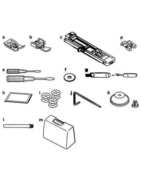 Macchina da Cucire Juki HZL-355Z   Valigia rigida e accessori sono di dotazione