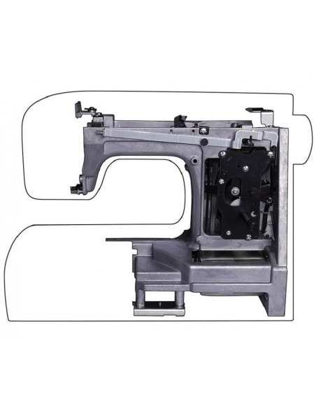 Singer HD 4411 Sewing Machine | Metal Frame