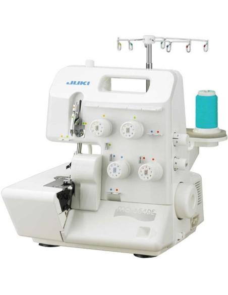 Juki MO-654DE facilmente trasportabile grazie alla maniglia incorporata