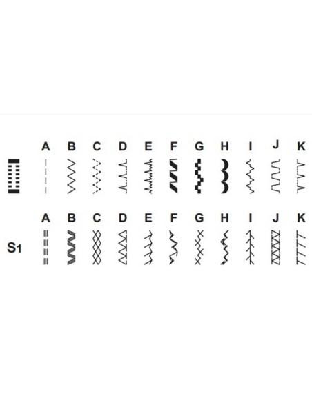 Macchina per Cucire Singer Tradition 2263 | Ampia dotazione di programmi per qualsiasi tipo di tessuto