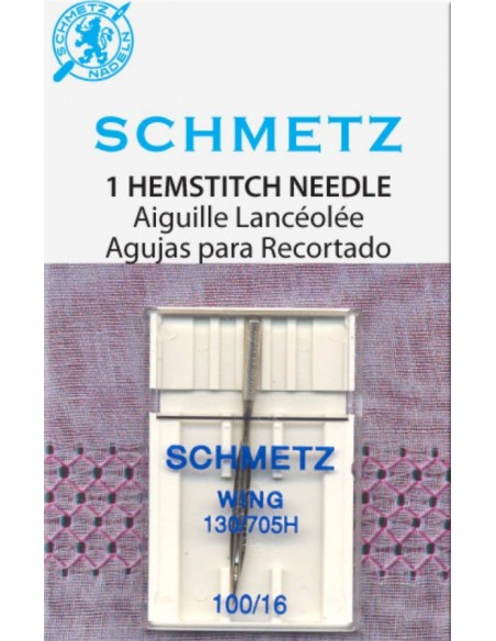 Schmetz Sewing Machine Wing Needle