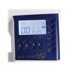 Lo schermo retro-illuminato della macchina da cucire Juki G220