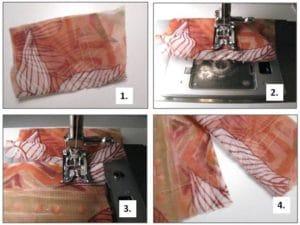 Come cucire le stoffe sottili?