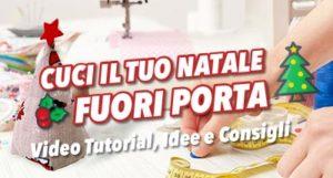 Fuori Porta Natalizio – Cucito creativo – Tutorial