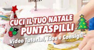 Crea il tuo Puntaspilli Natalizio – Cucito creativo – Tutorial