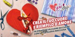 Cuore di San Valentino – Cucito creativo – Tutorial