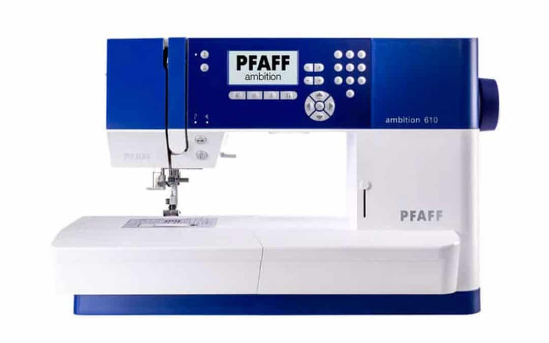 Le nuove macchine da cucire pfaff della linea ambition