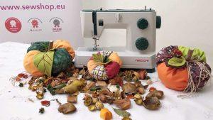 Come preparare una colorata zucca di stoffa per Halloween – Tutorial cucito creativo