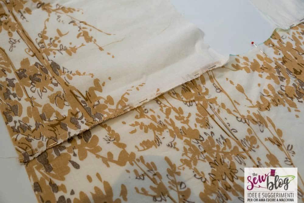 Cucire un kimono romantico sewshop 13